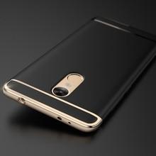 Для Xiaomi Redmi Note 4X случае Ollivan Роскошные 3-в-1 противоударный металлический покрытие жесткий пластиковый Защитный чехол Redmi Примечание 4×5.5 Капа
