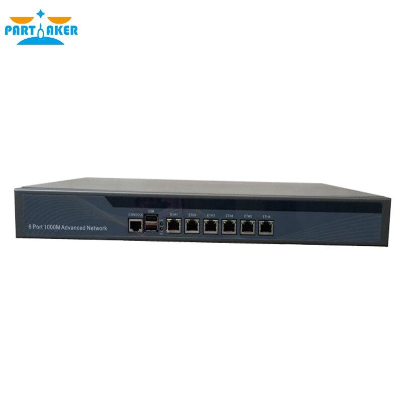 Причастником r15 Intel i7 4770 6 ethernet кабинет Тип 1u сети маршрутизатор с 2 г Операт ...