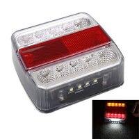 Waterproof 12V 10 LED Car Trailer Tail Light Brake Stop Lamp Taillight