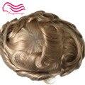 Tsingtaowigs, ультратонкий кожаный мужской парик 0,02-0,04 мм, замена волос, цвет 22R европейские волосы remy mentoupee Бесплатная доставка