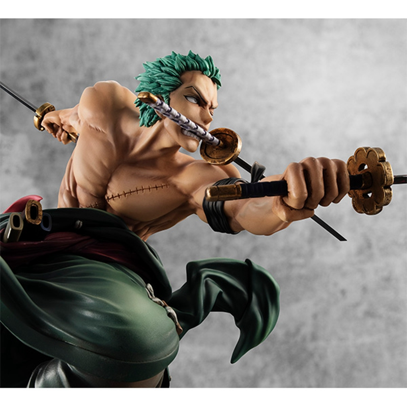 MegaHouse Roronoa Zoro Figurine POP SA-Maximum Model One Piece Collections New