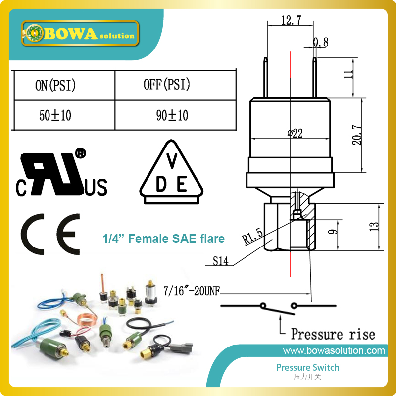 90PSI off and 50PSI on pressure switches with 1/4 female SAE flare connector portable lcd digital manometer pressure gauge ht 1895 psi air pressure meter protective bag manometro pressure meter