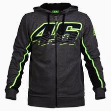 2016 Brand New Men's Clothing Valen Rossi VR46 Hoodies Sweatshirts MotoGP Hoodies Motorcycle Casual Winter Sports Jackets