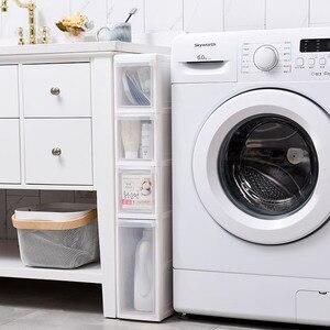 2019 Sale Cajoneras De Plastico Organizador Para Ropa 14cm Seam Storage Rack Plastic Toilet Drawer Type Locker Cabinet Pulley