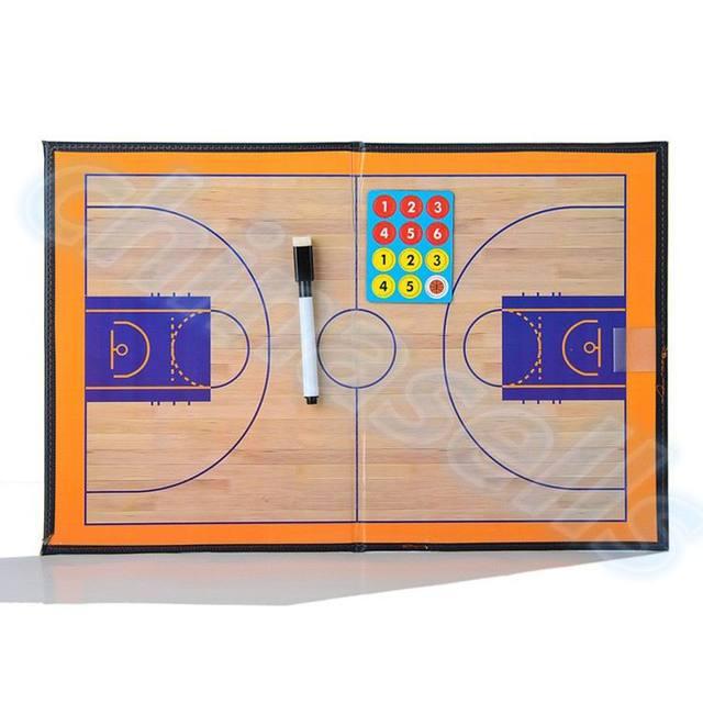 PVC Pieghevole Calcio basketball Coach Gara Allenamento Piatto Tactical Coaching Consiglio Kit magnetico a bordo di insegnamento Allenatore Bordo