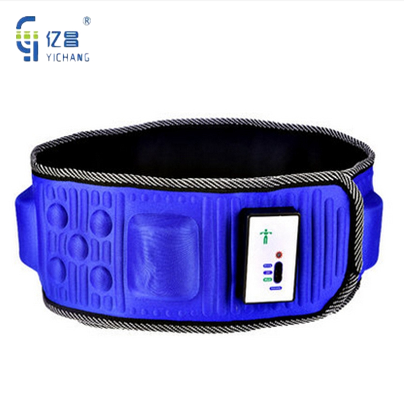 Newest Electric Body Heat Function Vibration Thin Belt Fat Massage Weight Loss Body Wraps Sauna Slimming Belt For Muscle Relax купить
