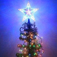 4 Светодиодный светильник с мигающим режимом в виде звезды, рождественской елки, рождественские вечерние лампы для дома, три размера на ваш выбор