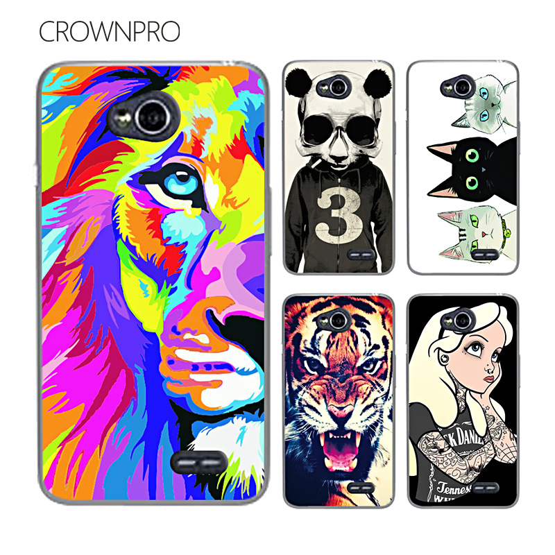 CROWNPRO FOR LG L70 Case Cover FOR LG L65 Case Optimus D325 MS323 D329 D320N D285 D280 L 70 65 Back Cover Case FOR LG L70 L65