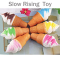1pc Cute Soft Jumbo Ice cream Squishy Cellphone Kawaii Charms Straps Gifts Cool Hot gift for children