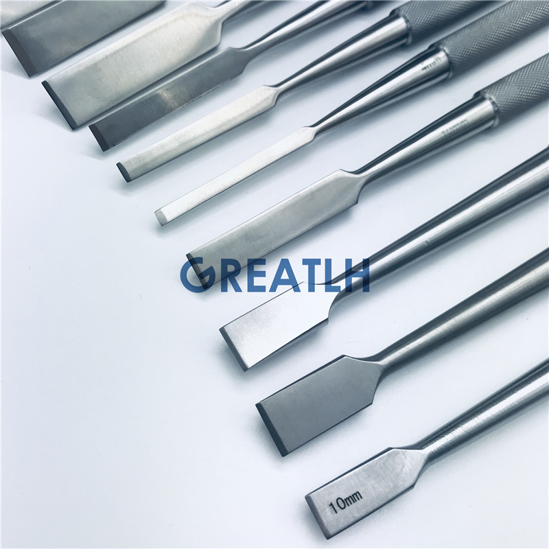 High Quality Bone Osteotomes,Osseous Knife Veterinary Orthopedics Instruments