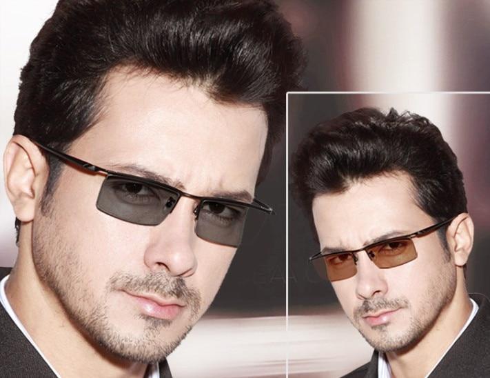 Eyesilove men s myopia photochromic glasses brand titanium myopia Glasses myopia sunglasses with Sensitive Transition lenses
