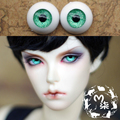 1Pair SD BJD Doll Accessories Eyeball 12MM 14MM 16MM Green  Acrylic Doll Eyes BJD Eyes