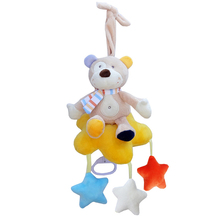 Baby Hanging Toy Crib Soft Rattle Hanging Bell