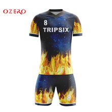 ead5ea938 OZERO wholesale thai quality customized cheap soccer jersey set new  football models