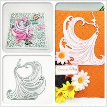 AZSG Pretty Fairy/Dancer Cutting Dies For DIY Scrapbooking Card Making Decorative Metal Die Cutter Decoration
