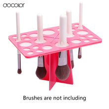 Docolor make-up brush organizer Stand Tree Dry Brush holder Brushes Accessories Comestic Brushes Aside Hang Tools Free Shipping