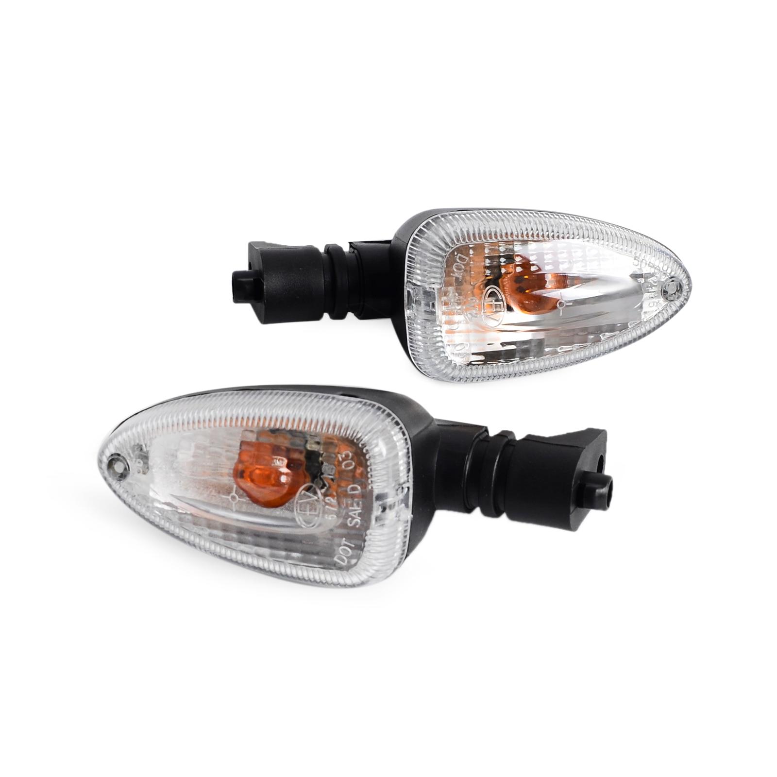Prix pour Vente chaude Turn Signal Indicateur Lumières Pour BMW F650GS F800GS 2008-2012 HP2 K 1200R/S 1200GS 1300R clair