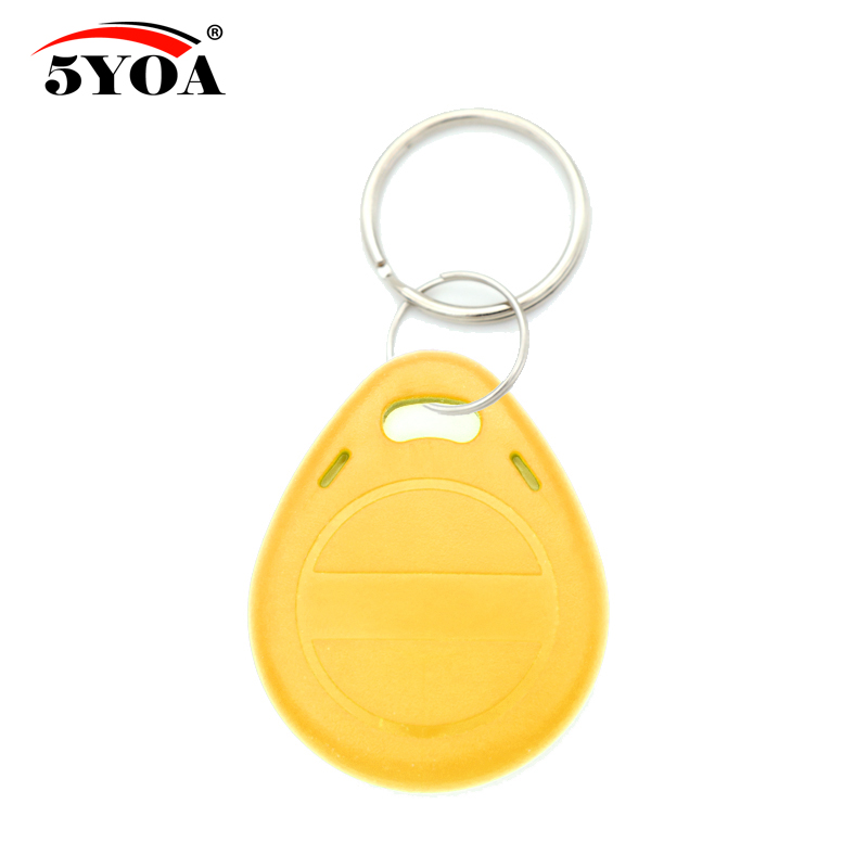 Image 4 - 50pcs EM4305 T5577 Copy Rewritable Writable Rewrite EM ID keyfobs RFID Tag Key Ring Card 125KHZ Proximity Token Badge Duplicatewritable rewriterfid tag125khz card -