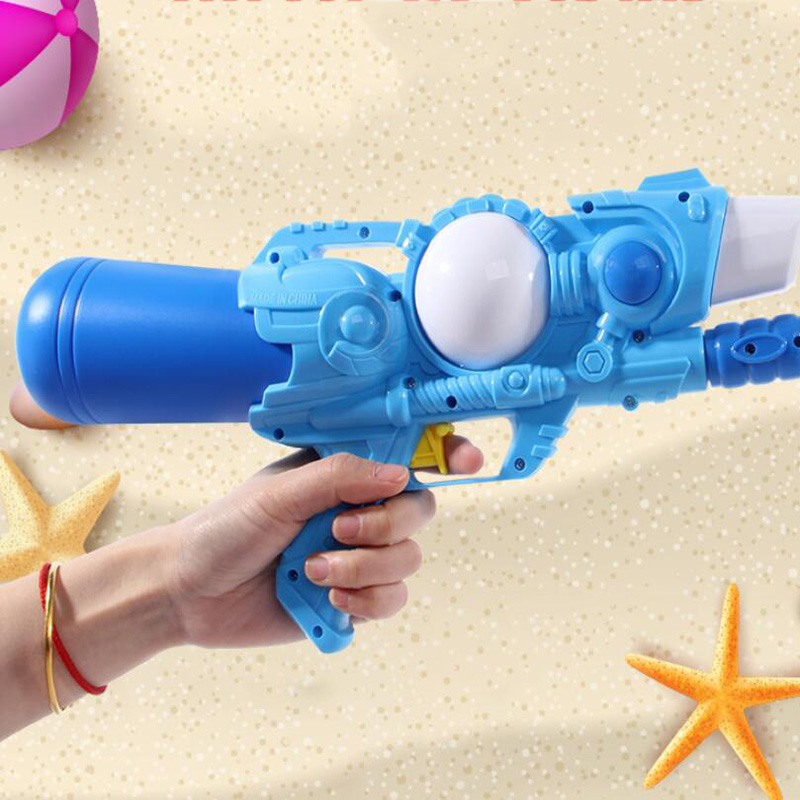 Spring And Summer Outdoor Play Water Portable Manual Pull-Type Water Gun Shooting Toy Children Holiday Gift Water Gun Toy