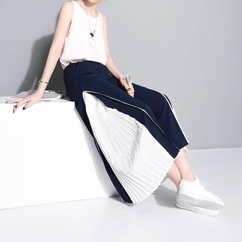 מכנסיים קיץ גבוהה מותן 12