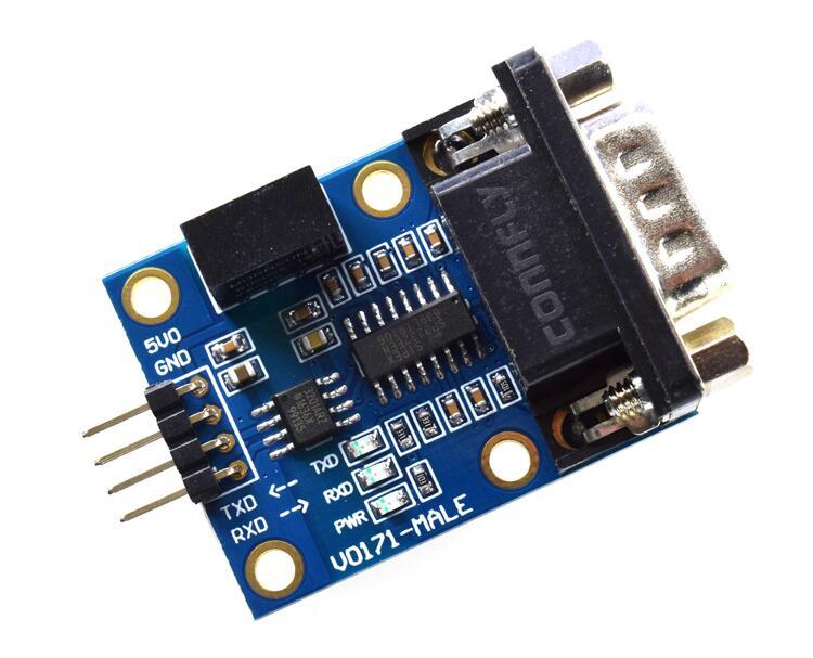 Isolation-Module MORNSUN RS232 SP3232 ADUM3201 B0505S Serial-Port Ttl Power-Signal Milling-Edge