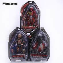 "NECA Predator Falconer Predator 2 City Hunter Besar Merah PVC Aksi Gambar Koleksi Model Toy 7 ""18 cm(China)"