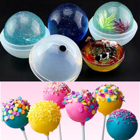 9 Sizes DIY Sphere Ball Silicone Mold Mould For Resin Casting Jewelry Making Multifunctional Silicone Molds DIY Craft Supplies