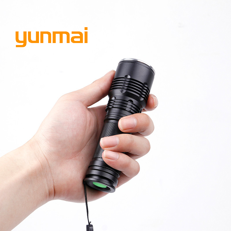 High Quality Powerful 3800lm Cree xml t6 Tactical Led Flashlight Waterproof Torch Zoom lanterna light AAA/18650/26550 Battery high quality zoomable cree xml t6 model 1000 lm led outdoor long shots flashlight 18650 torch high light