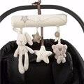 Urso coelho plush toys stuffed toys pendurado em carrinhos de bebê produtos estrela móvel bonito do bebê chocalhos toys -- byc030 pt49