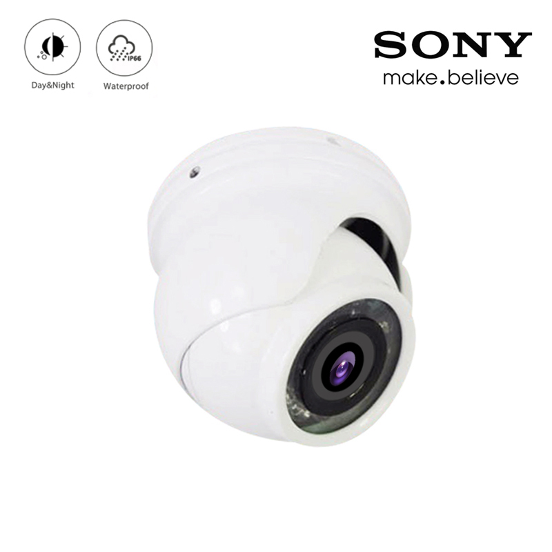 12Pcs Infrared Leds 5mp/4mp/2mp CMOS White Color Outdoor IP66 Mini Dome AHD CCTV Surveillance Security Camera Free Shippi