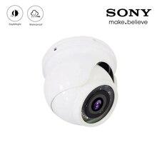12 Uds. De Leds infrarrojos 5mp/4mp/2mp Color blanco al aire libre de detección facial IP66 Mini domo hemisferio CCTV vigilancia de seguridad AHD Cámara