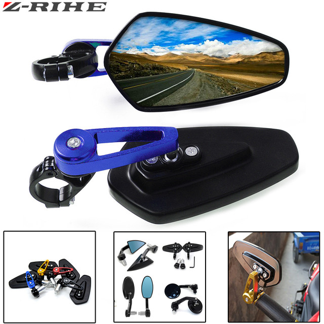 Motorcycle Rearview Mirror Moto Side For HONDA CBR 900 919 929 600RR HYOSUNG GT125R