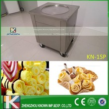 free shipping Stainless steel Ice Pan Machine roll ice cream maker without refrigerant