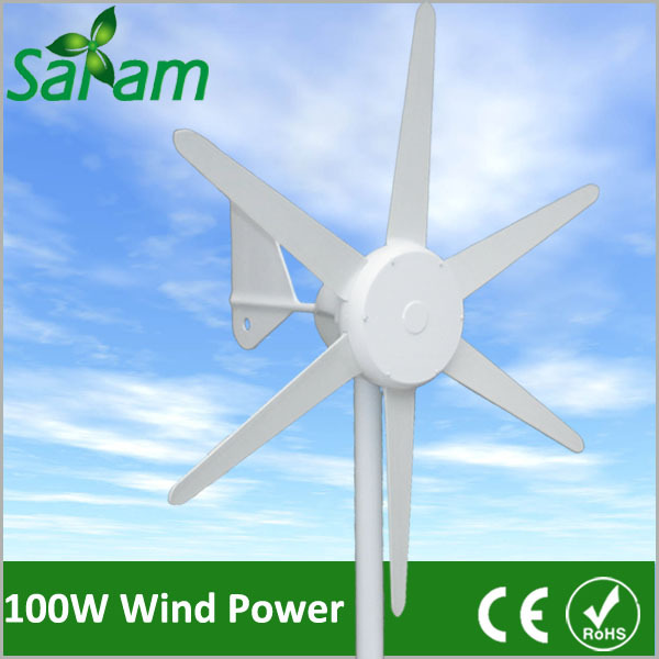 Free Shipping 100W 6 Blades Marine Wind Mill With Built-in Controller mtr marine 3 6 bms