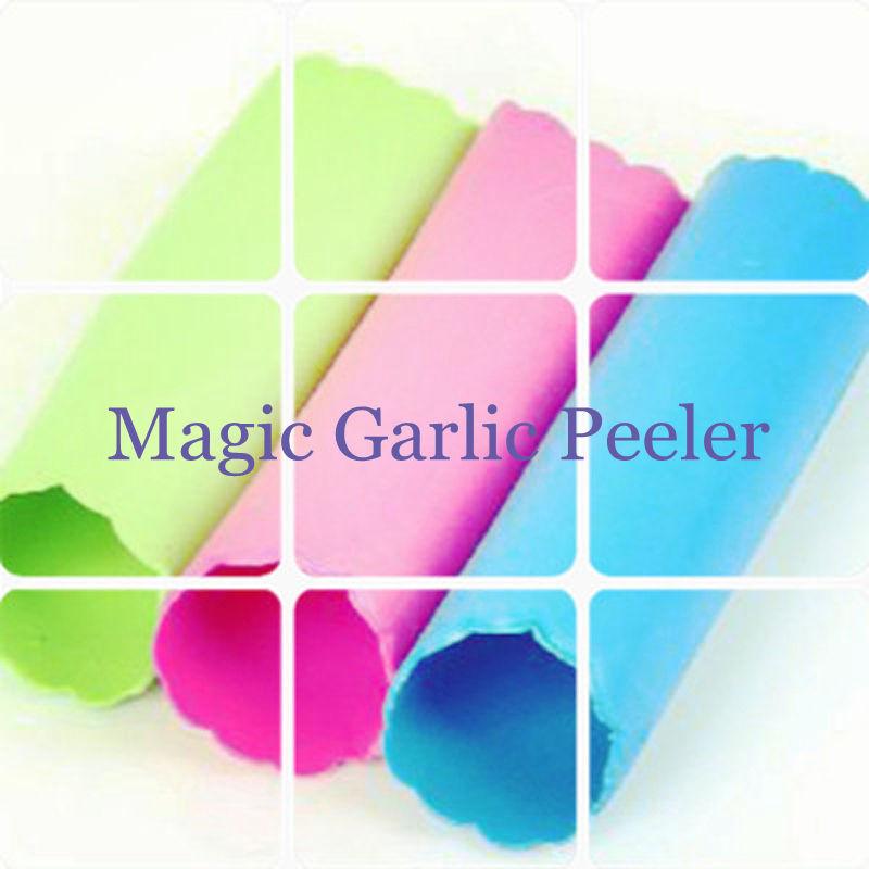 unid silicona magic ajo peeler vegetal conveniente gadgets de cocina de cocina fcil til