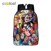 Anime Gravity Falls Children School Bags Boys Girls School Backpack Cartoon Dipper Mabel Backpack For Teenagers