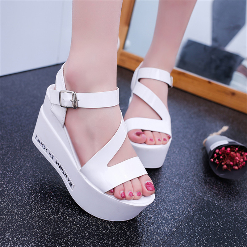 Free shipping new 2017 sponge thick bottom open-toed sandals women summer Roman shoes waterproof high slope with students novatec 265 266 fixed gear bike hub single speed racing track bicycle hubs 32 holes 32h small hubs a265sbt a266sbt 2bearing