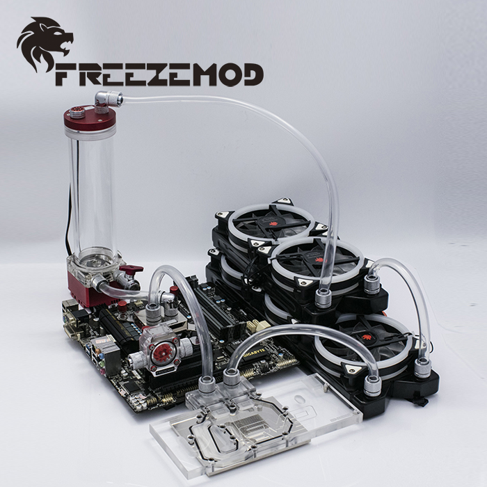 FREEZEMOD computer water cooling system Set professional set 4 for soft pipe FREEZEMOD PKS4