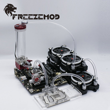 FREEZEMOD компьютерная система водяного охлаждения Набор Профессиональный набор 4 для мягкой трубы, FREEZEMOD-PKS4