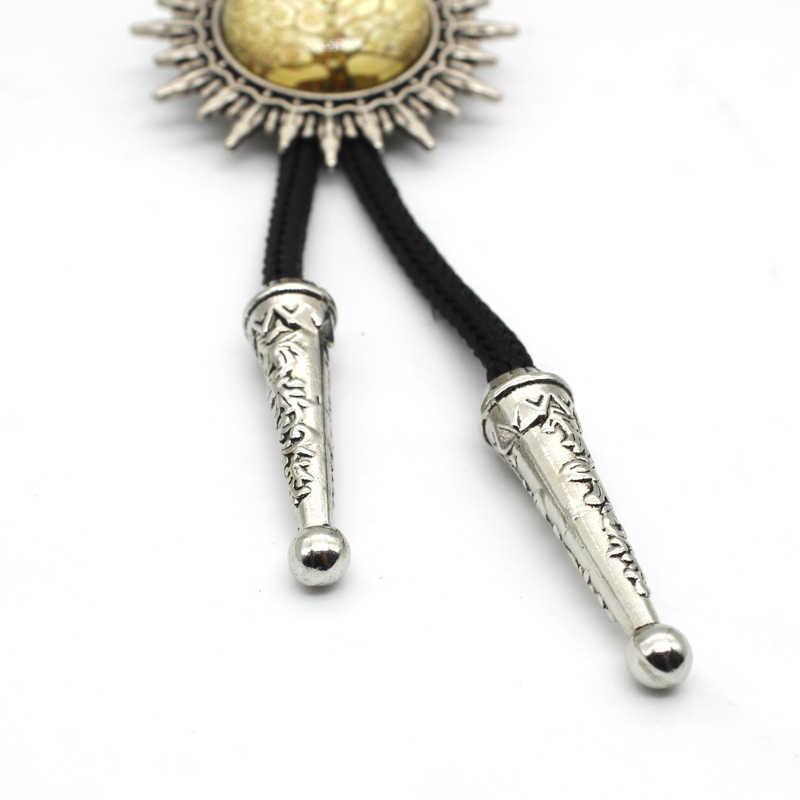 BOLO-0010 New Arrival Reiki Cowboy Bolo Tie Steampunk szklaną kopułą Reiki krawat biżuteria dla kobiet mężczyzn hurtowych