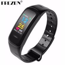 FREZEN C1 más Color Band pulsera inteligente presión arterial oxígeno/Monitor de ritmo cardíaco Fitness Tracker deporte Smart Wristbands