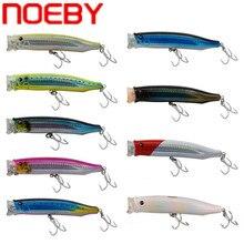 NOEBY Popper Fishing Lure 150mm 54.5g Poper Hard Bait Topwater Plastic Wobbler Iscas Artificiais Para Pesca Peche Leurre