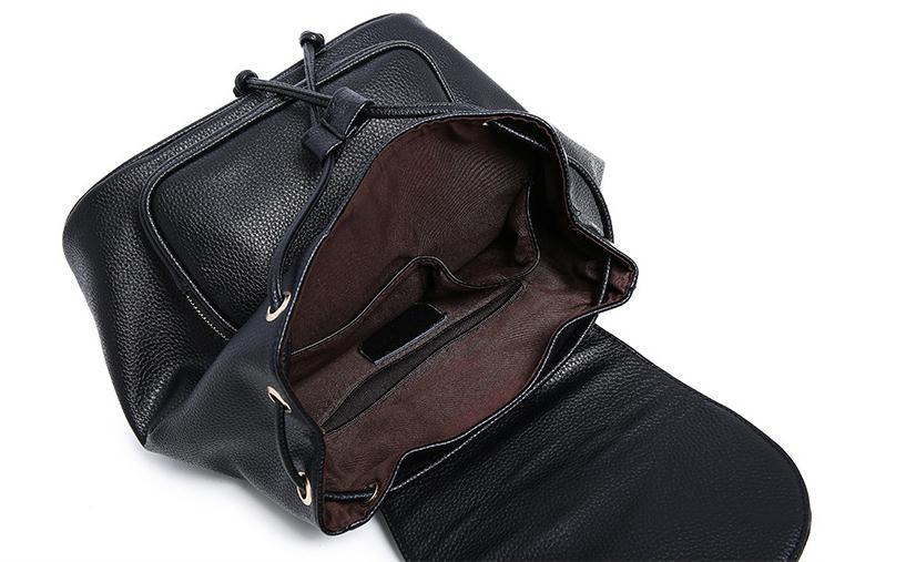 En été 2018, le nouveau sac à dos de voyage de vacances PU femme de loisirs mode et sac à bandoulière confortable - 2