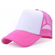 0691a034 Summer Men and Women Casual Baseball Hat Gorras truck driver Mesh Cap  Basketball Outdoor Sports Unisex Wholesale