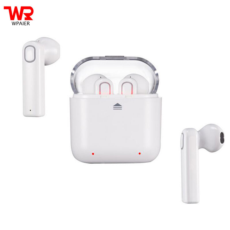 WPAIER Wireless Bluetooth headset V4.2 CSR63120 Outdoor sport mini headphones with Portable charging box Top quality Universal kz headset storage box suitable for original headphones as gift to the customer
