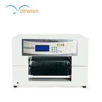 A3 tamanho 8 cor DTG digital t-shirt Impressora com tinta branca para a impressão Têxtil