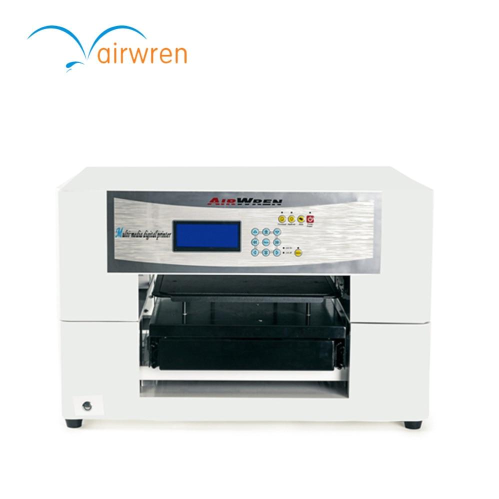 Hot Selling 8 Colors  Flatbed Digital A3 Print Size  DTG T-shirt Printer