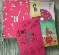OH MY GIRL OMG autographed signed with pen 2016 mini3rd PINK OCEAN album CD new korean 05.2016