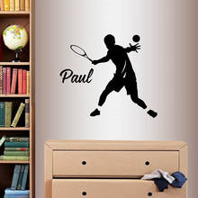 YOYOYU Wall Sticker Personalized Name And Number Design Home Decor Vinyl Art Decoration Removeable Poster Mural Decel J161