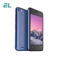4.0 inch Android v6.0 3G Unlocked Cell Phones EL W40 Mobile Phone MTK6580 Dual SIM Original Cheap Quad Core Touch Smartphone